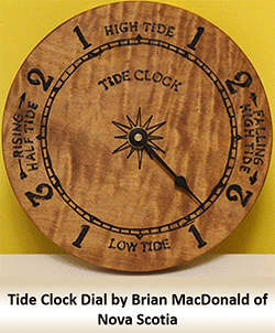 tide clock example DIY